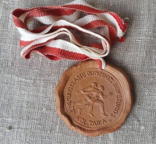 """Molinis medalis """"Iš Nemuno krašto..."""""""