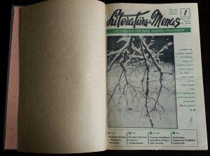 """Įrištas """"Literatūra ir menas"""" komplektas, 1979 m."""