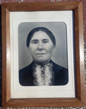 Fotoportretas rėmelyje
