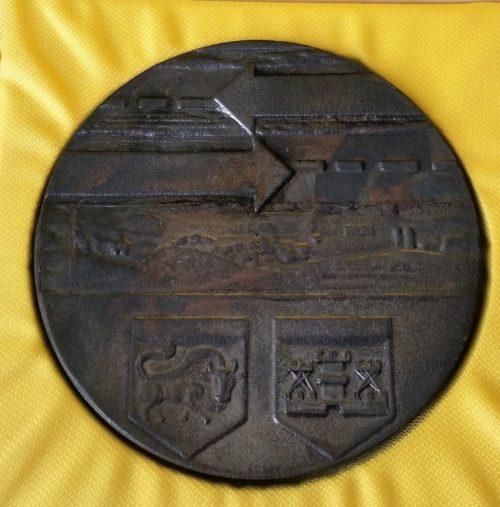 "Stalo medalis ""Automagistralė Kaunas - Klaipėda. Sargėnų sankryža"""