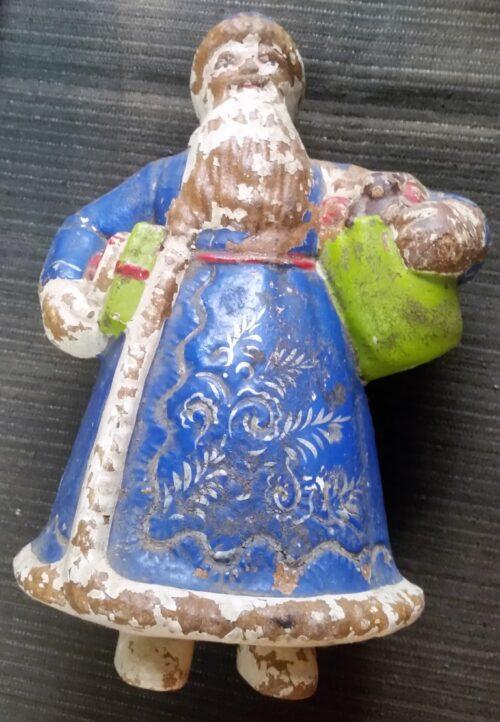 Kalėdų Senelis (iš papjė mašė)
