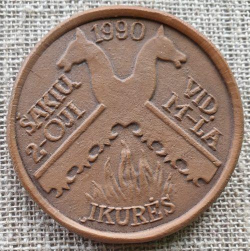 Molinis medalis 1990 m.