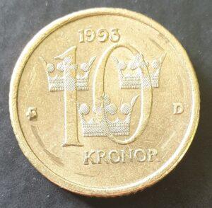 10 kronų, 1993