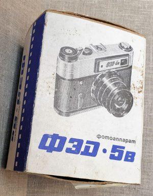 "Fotoaparatas ""ФЕД 5в"""