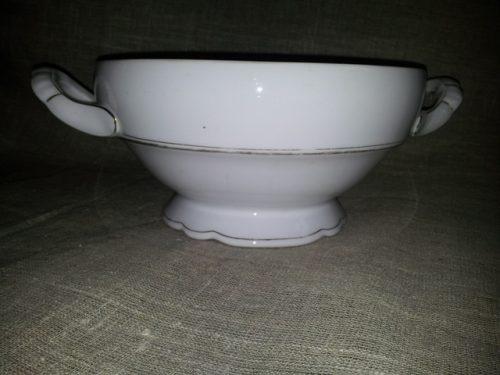 Porcelianinis indas sriubai