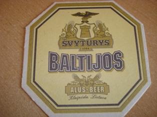 """""""Baltijos"""" alaus padėkliukas"""