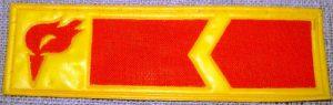 TSRS studentų statybinių būrių skiriamasis ženklas