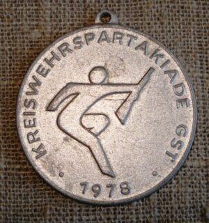 "Medalis ""KREISWEHRSPARTAKIADE GST 1978"""