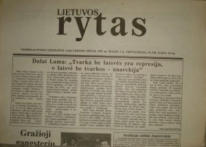 Lietuvos rytas, 1991-10-02