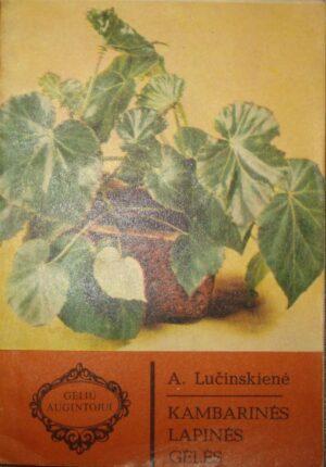 Lučinskienė A. Kambarinės lapinės gėlės