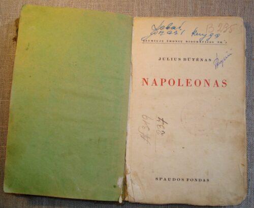 Būtėnas Julius. Napoleonas