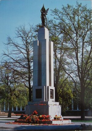 """Atvirukas """"Kaunas. Laisvės statula"""""""