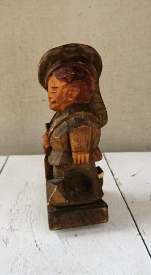 """Medinė skulptūrėlė """"Jūreivis"""""""