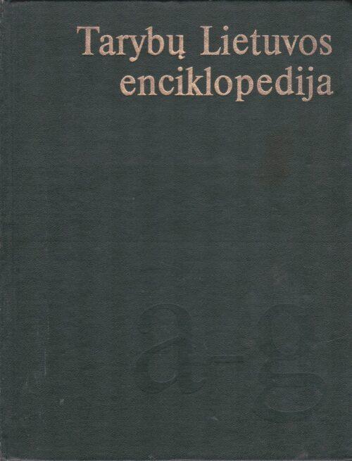 Tarybų Lietuvos enciklopedija, I tomas