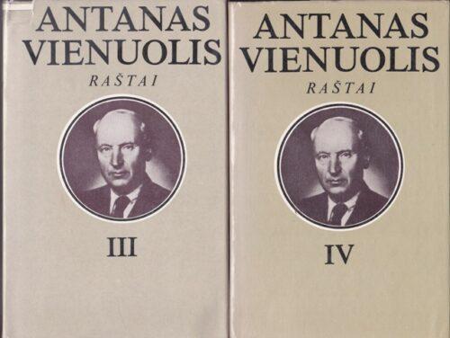 Vienuolis Antanas. Raštai (I-VI tomai)