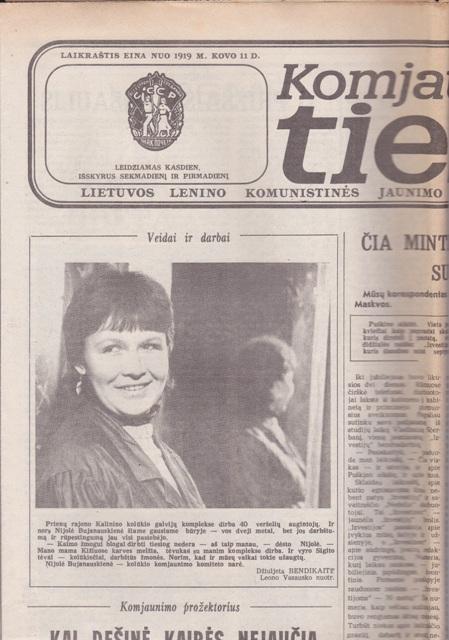 Komjaunimo tiesa, 1987-03-13