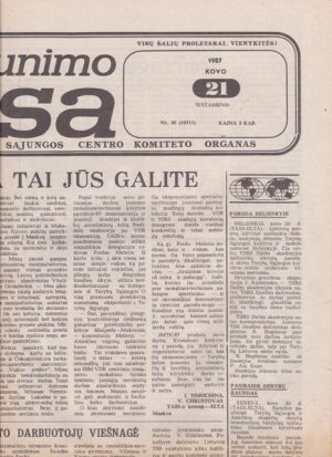 Komjaunimo tiesa, 1987-03-21