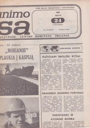 Komjaunimo tiesa, 1987-03-24