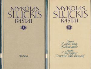 Sluckis Mykolas. Raštai (I-IV tomai)