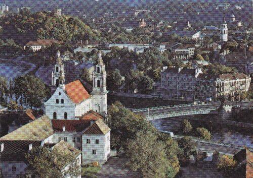 """Atvirukas """"Vilniaus panorama"""""""