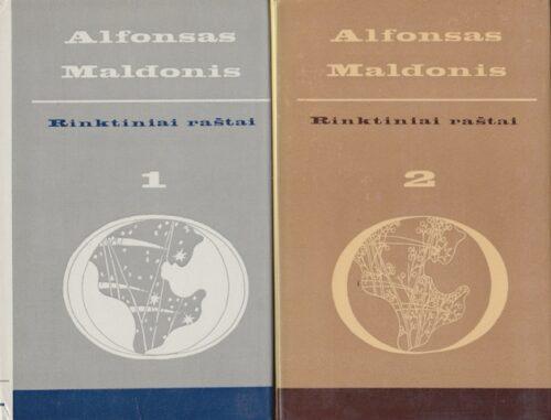 Maldonis Alfonsas. Rinktiniai raštai (1-2 tomai)
