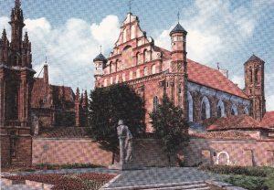 """Atvirukas """"Vilnius. Paminklas Adomui Mickevičiui"""""""