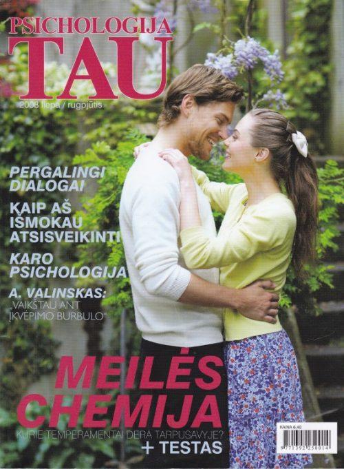 """Psichologija tau"", 2008 liepa/rugpjūtis"