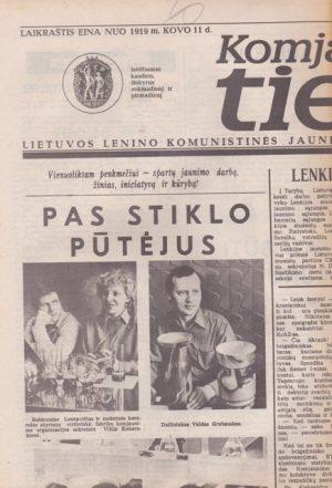 Komjaunimo tiesa, 1985-03-22