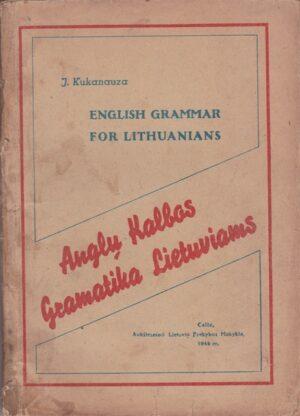 Kuknauza J. Anglų kalbos gramatika lietuviams