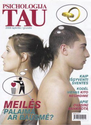 """""""Psichologija tau"""", 2008 lapkritis/gruodis"""