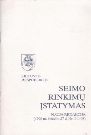Seimo rinkimų įstatymas