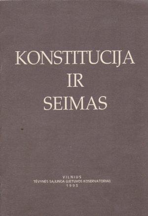 Konstitucija ir Seimas