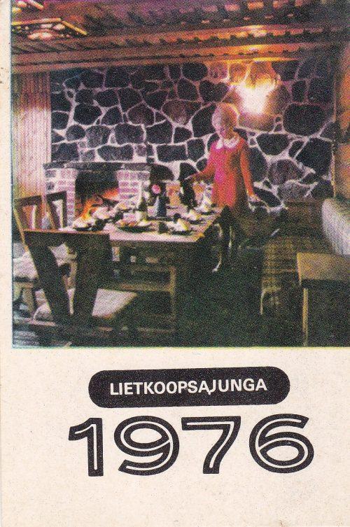 """Kalendoriukas """"Lietkoopsąjunga, 1976"""""""