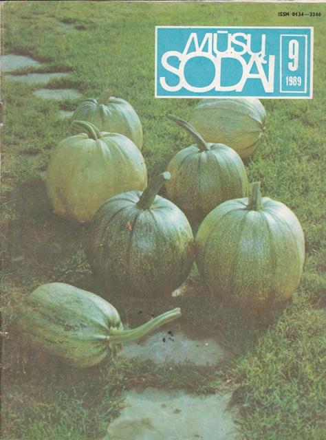 Mūsų sodai, 1989/9