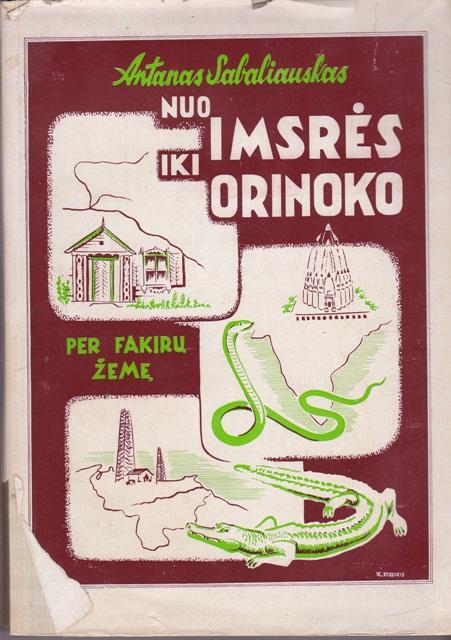 Sabaliauskas A. Nuo Imsrės iki Orinoko