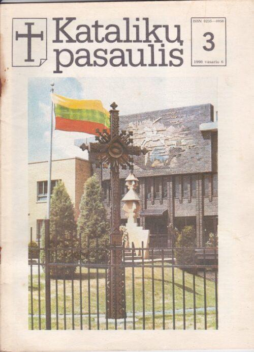 """Katalikų pasaulis"", 1990/3"