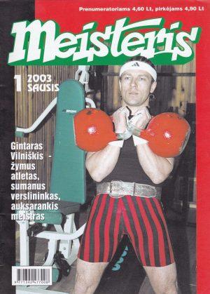 """""""Meisteris"""", 2003/1"""