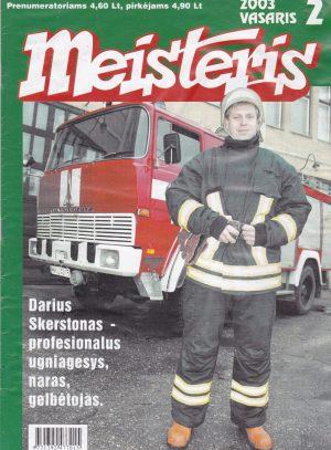 """""""Meisteris"""", 2003/2"""