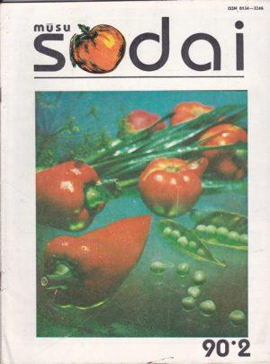 Mūsų sodai, 1990/2