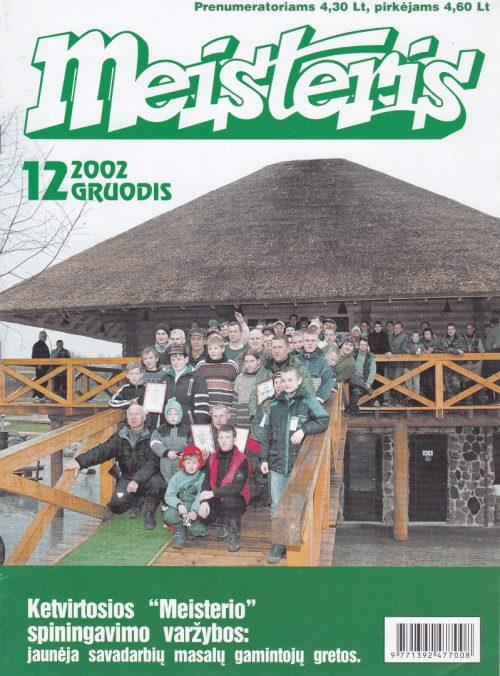 """""""Meisteris"""", 2002/12"""