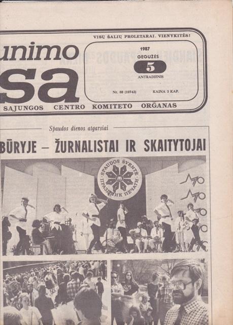 Komjaunimo tiesa, 1987-05-05