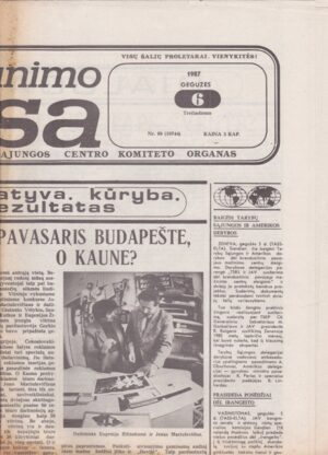 Komjaunimo tiesa, 1987-05-06