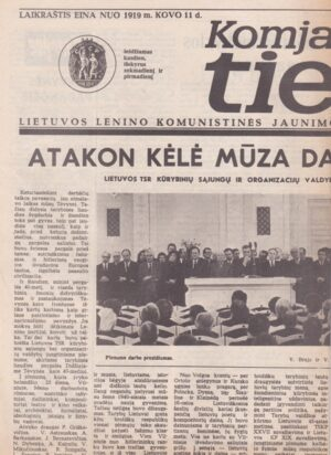 Komjaunimo tiesa, 1985-04-26