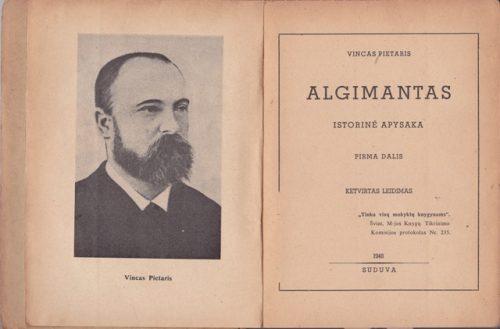 Pietaris V. Algimantas (I-II dalys)