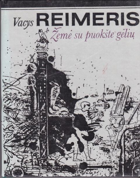 Reimeris Vacys. Žemė su puokšte gėlių