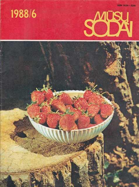 Mūsų sodai, 1988/6
