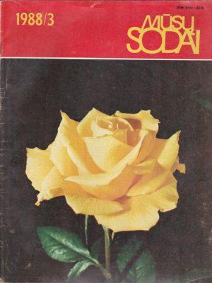 Mūsų sodai, 1988/3