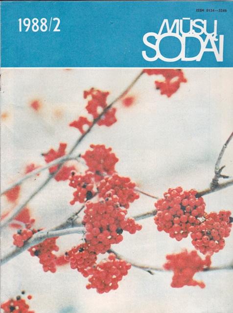 Mūsų sodai, 1988/2