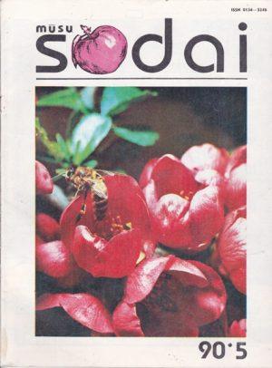 Mūsų sodai, 1990/5