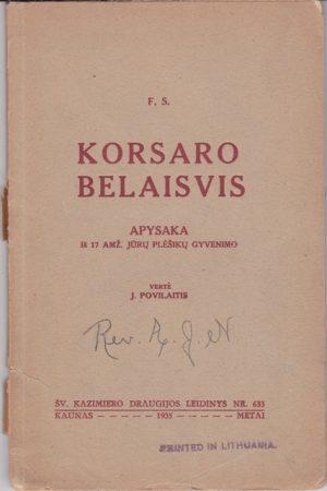 F.S. Korsaro belaisvis